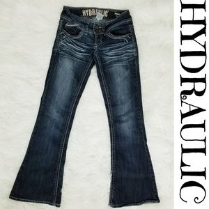 HYDRAULIC The Metro Flare Jeans